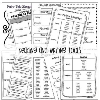 Fairy Tales Writing Unit {Lesson Plans, Activities, and More!}