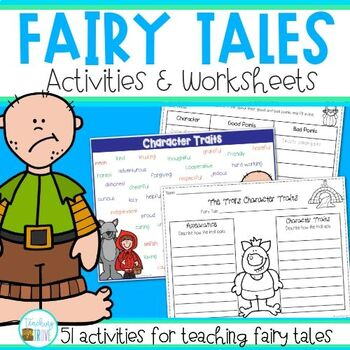 fairy tales activities and worksheets by teaching trove tpt. Black Bedroom Furniture Sets. Home Design Ideas