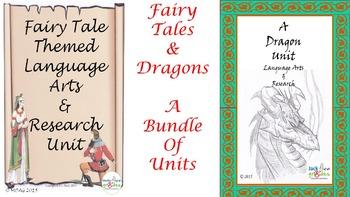 Fairy Tales and Dragon Bundled Unit - Savings $5.60