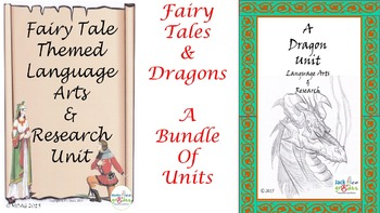 Fairy Tales and Dragon Bundled Unit - Savings $5.60