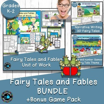 Fairy Tales and Fables - Bundle of Products