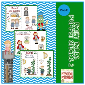 Fairy Tales and Puppet Sticks 2