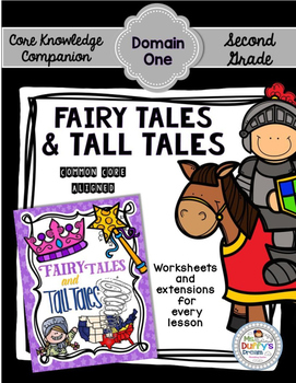 CKLA Fairy Tales and Tall Tales~Second Grade (Engage NY/Core Knowledge Domain 1)
