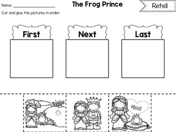 Fairy Tales and other Classics Retell Pack