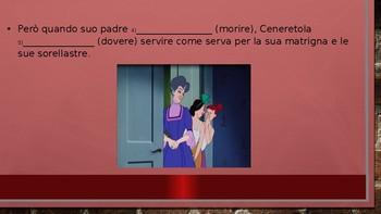 Fairy Tales and using the Passato Prossimo versus Imperfect Tense in Italian