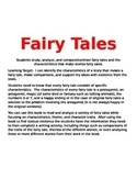 Fairy Tales for Common Core