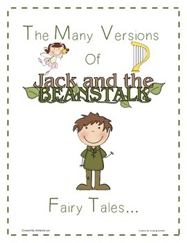 Fairy Tales:Jack and the Beanstalk, Jim and the Beanstalk,Kate and the Beanstalk