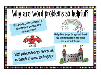 Fairy Themed Word Problems Addition