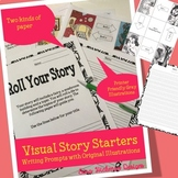 Fairy Writing Prompt - Roll a Story