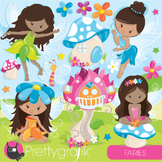 Fairy clipart commercial use, vector graphics, digital, fairies, faeries- CL944