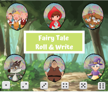 Fairy-tale Roll & Write (Writing Prompt)