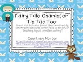 Fairy tale Tic Tac Toe (set of Five Boards and Characters)