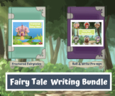 Fairy Tale Writing Bundle (Fractured Fairy Tale & Roll and Write)