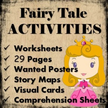 Fairytales Unit and fairy tale activities/theme