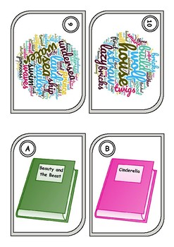 Fairy tales (matching cards)