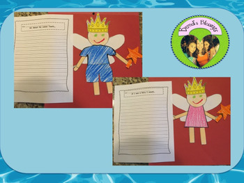 Tooth Fairy Writing & Craft