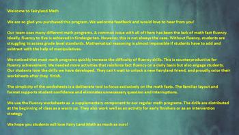 Fairyland Math Practice