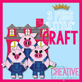 "Fairy tale 3 Pigs "" Little "" Craft"