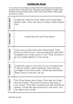 Fairytale Books To Make - 5 Different Stories - Differientated Activities