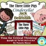 Fairytale Bundle!  Three Critical Thinking Activities (1st