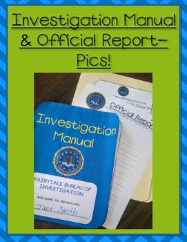 Fairytale Bureau of Investigation - A Literature Compare & Contrast Unit