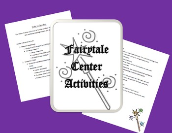 Fairytale Center Activties