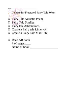 Fairytale Centers