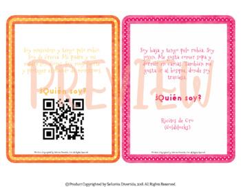 Fairytale Character Mystery QR Code Activity
