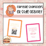 Fairytale Character Mystery QR Code Activity