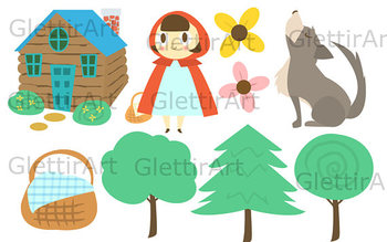 Fairytale Clipart Set For Commercial And Personal Use