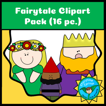 Fairytale Clipart or Finger Puppets Freebie