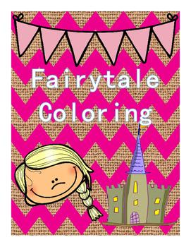Fairytale Coloring Freebie