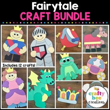 Fairytale Cut and Paste Set