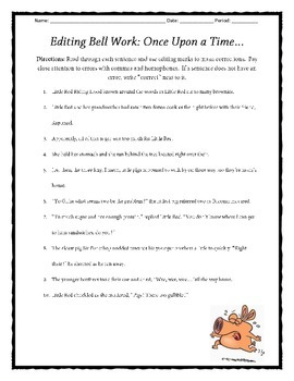 Fairytale Drama: Practicing Homophones and Appositives Worksheet