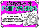 Fairytale Elements - Teaching Slides, Craft, & Read Aloud