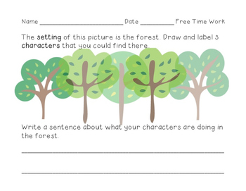 CKLA First Grade Domain 3 Fairytale Extension Work