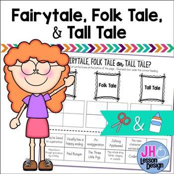 Fairytale, Folk Tale, or Tall Tale? Cut and Paste