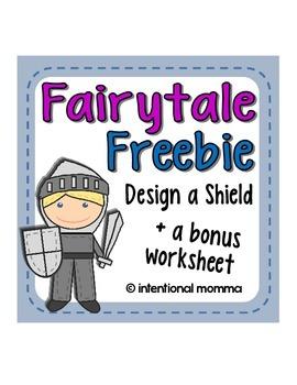 Fairytale Freebie - Design a Shield