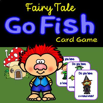 Fairytale Go Fish -27 Cards