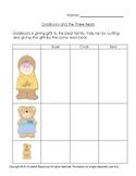 Fairytale Goldilocks Compares the Bears