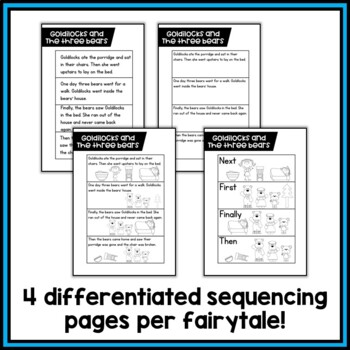 Fairytale Sequencing Interactive Notebooks