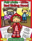 Fairytale - Little Red Riding Hood NO PREP (Kindergarten a