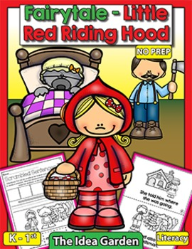 Fairytale - Little Red Riding Hood NO PREP (Kindergarten a