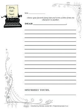 Fairytale Mail Activity