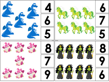 Fairytale Math and Literacy Pack for Preschool and Kindergarten