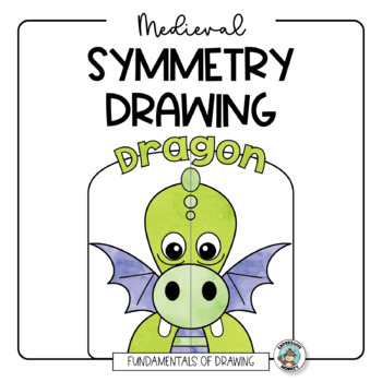 Fairytale & Medieval Symmetry Drawing for Little Artists