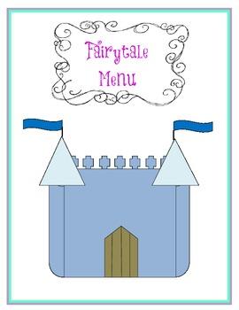 Fairytale Menu
