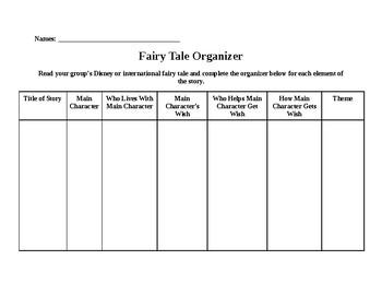 Fairytale Organizer