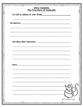 Fairytale Point of View Lesson and Writing Activity BUNDLE