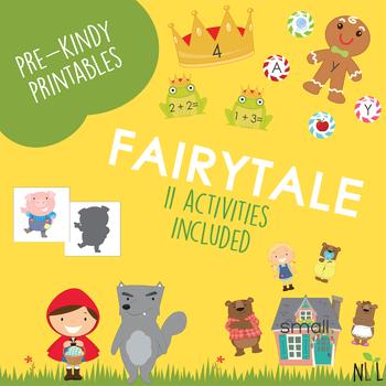 Fairytale Preschool Pack
